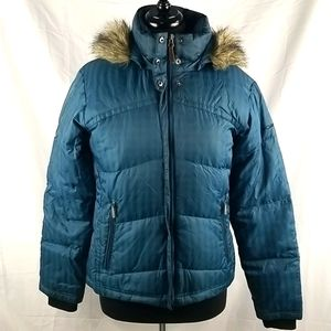 Columbia Down Puffer Jacket Size Medium